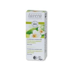crema equilibrante opacizzante te verde lavera