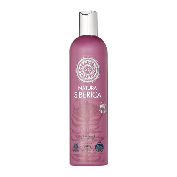 coloured and demaged shampoo natira siberica