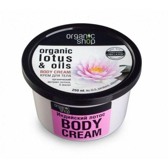 crema corpo loto organic shop
