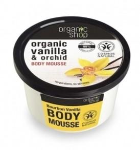 mousse vaniglia organic shop