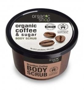 organic shop scrub caffè