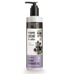 shower gel acai coffee organic shop