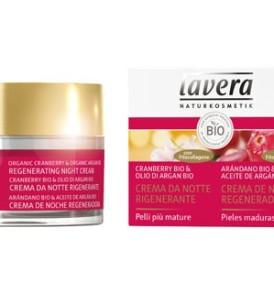 lavera-crema-notte-rigenerante-cranberry-olio-di-argan-bio