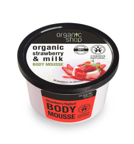 mousse fragola organic shop