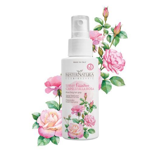 spray fissativo alla rosa