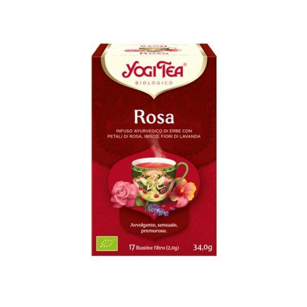 yogi tea rosa