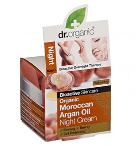 crema notte argan dr organic