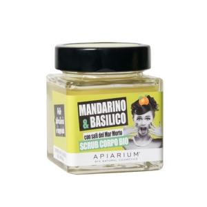 Scrub Corpo Mandarino e Basilico Apiarium