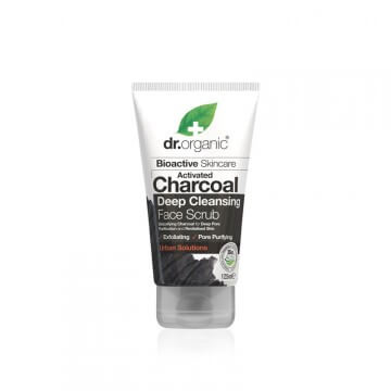 scrub-viso-purificante-dr-organic-charcoal-125-ml