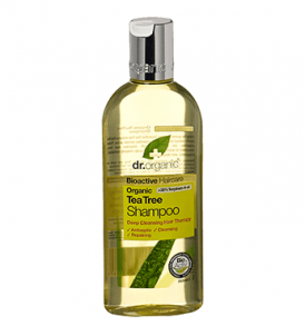 shampoo tea tree dr organic