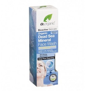 Dr-organic face wash mar morto