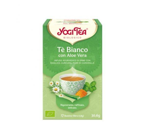 yogi tea te bianco con aloe