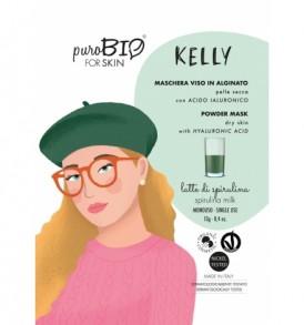 maschera-viso-peel-off-kelly-pelle-secca-purobio-profumazione-latte-di-spirulina