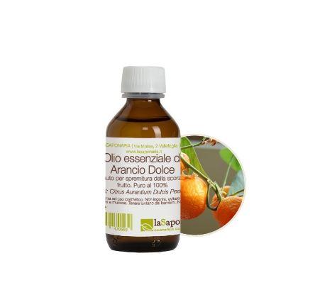 olio essenziale arancio dolce la saponaria 100 ml