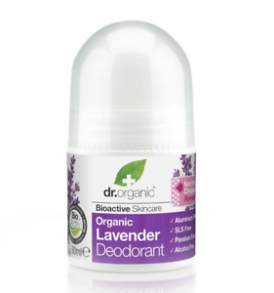 deodorante lavanda dr organic