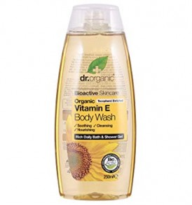 vitamina e dr organic body wash