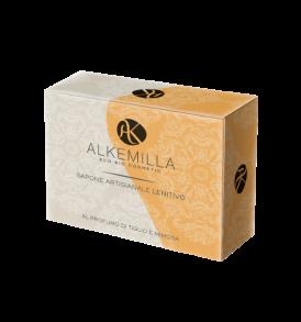 Sapone-Lenitivo-al-Profumo-di-Tiglio-e-Mimosa-Alkemilla