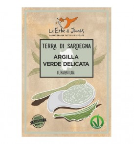 Argilla verde delicata le erbe di janas
