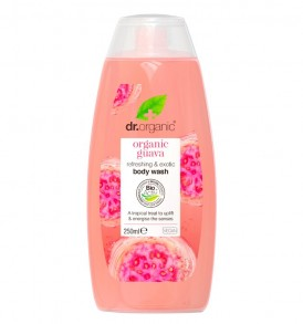 guava body wash dr organic