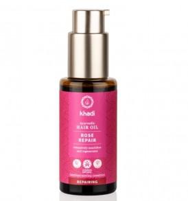 khadi hair oil color rose repair