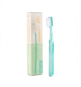 la saponaria spazzolino bimbi colore verde