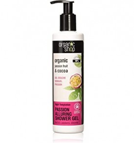 organic shop shower gel night temptation
