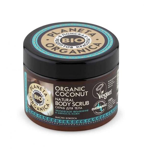 plante organica scrub corpo cocco