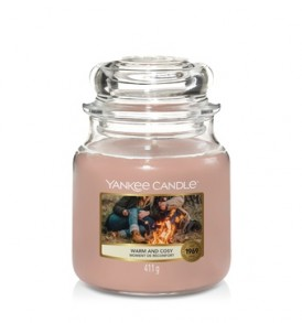 yankee candle giara media warm & cosy