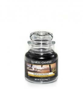 yankee candle giara piccola black coconut