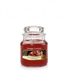 yankee candle giara piccola crisp campfire apple