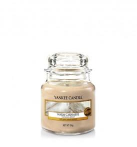 yankee candle giara piccola warm cashmere