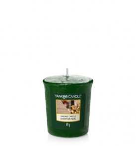 yankee candle semplers singing carols