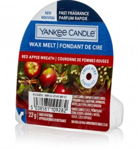 yankee candle wax christmas eve