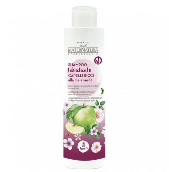 Inked maternatura shampoo idratante capelli ricci alla mela verde_LI