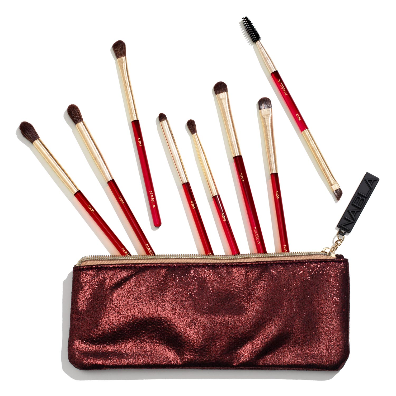 NABLA Ruby-brush-set