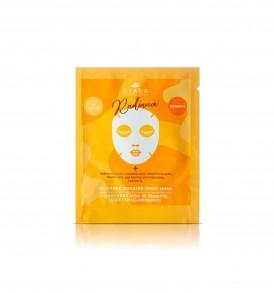 gyada cosmetics maschera viso in tessuto illuminante