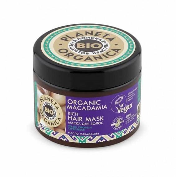 Maschera capelli al macadamia Planeta Organica