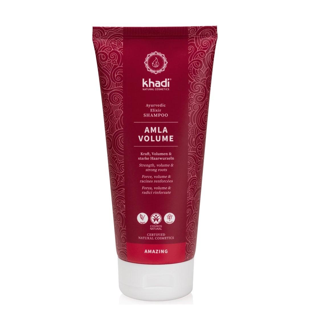 khadi shampoo-elisir-ayurvedico-amla-volume
