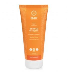 khadi shampoo-elisir-ayurvedico-orange-vitality