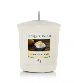 yankee candle candela votive sampler coconut rice cream