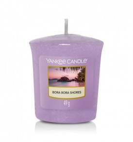 ynakee candle votive sampler bora bora shores