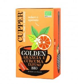 cupper arancia e curcuma infuso